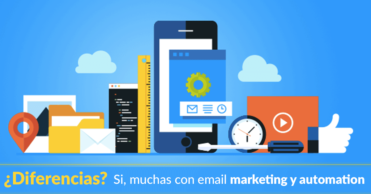 Estrategia Digital: Email marketing vs. Marketing Automation