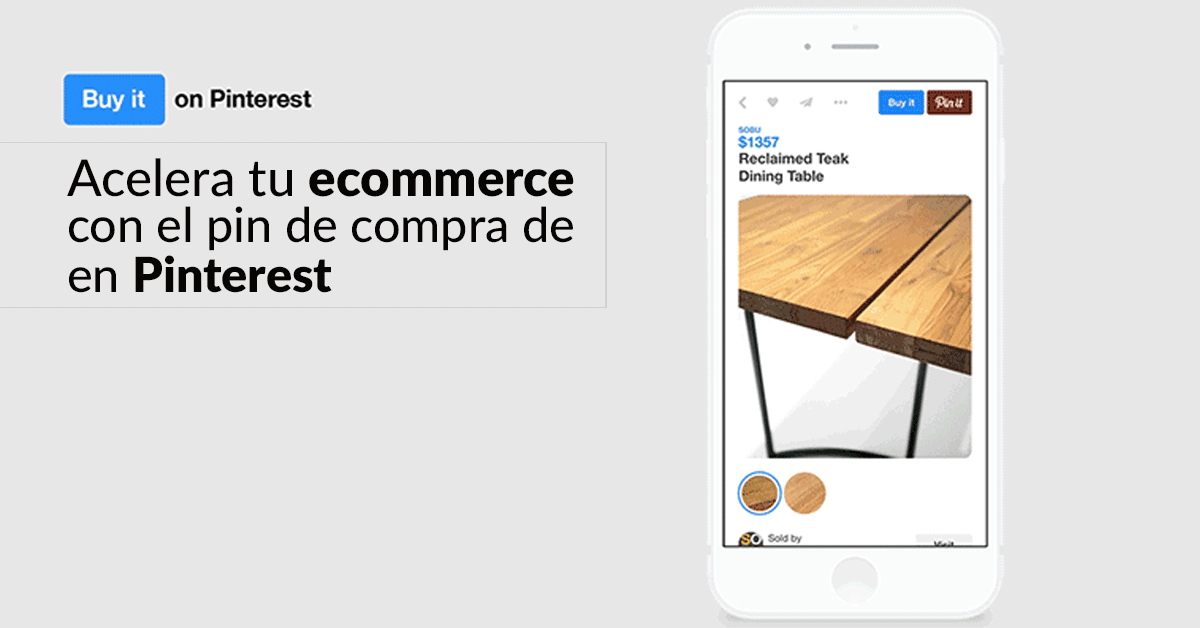 Social Media: Acelera tu ecommerce con Pinterest