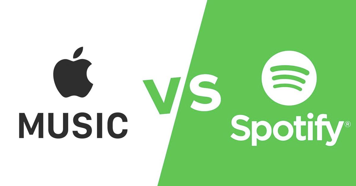 El marketing digital de Spotify Vs  Apple Music