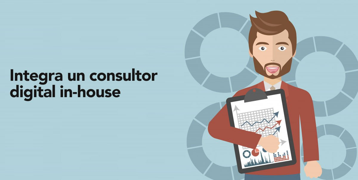 Estrategia digital: Integra un consultor digital in-house