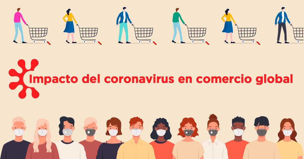 Impacto del coronavirus en comercio global