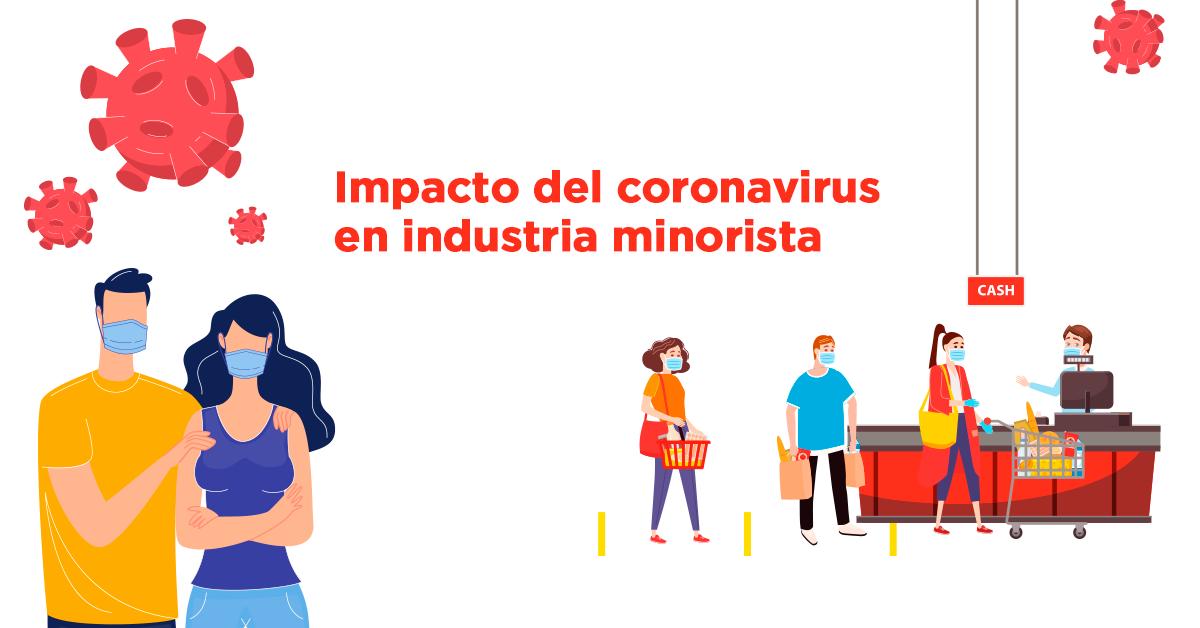 Impacto del coronavirus en industria minorista