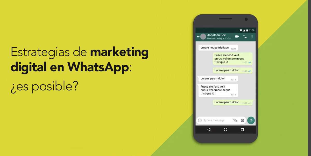 Marketing digital en WhatsApp: ¿es posible?