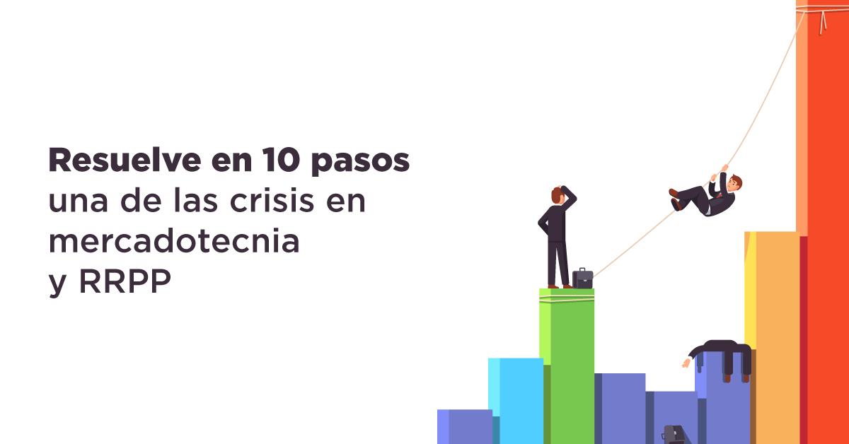 Resuelve en 10 pasos una de crisis en mercadotecnia y RRPP